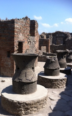 THe bakery at Pompeii