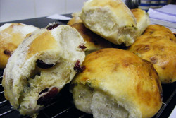 Jason Derbyshire's Cranberry & Stilton Rolls