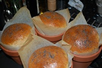 Welsh Clay Pot Loaves