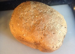 3 Malts and Sunflower Seed Breadmaker Loaf